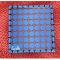 Heat impact resistance Silk Screen Glass for building windows , screens , walls Manufactures