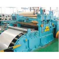 Full Automatic High Speed Steel Coil Slitting Machine For 0.5-3mm Thickness Manufactures
