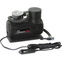 Mini Plastic Portable Electric Air Compressor For Car Tires With Black Handy Manufactures