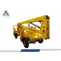 Diesel Power Self Propelled Articulated Hydraulic Boom Lift with 16m Platform Height Manufactures