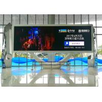 SMD3528 1R1G1B Indoor Advertising LED Display Screens With Ultra Slim & Lightweight Curable Panel Manufactures