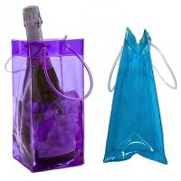 Promotional PVC cooler bag wine bottle ice bag Manufactures