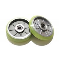 150X28X6003 Kone Elevator Pulley For Elevator Traction Machine Manufactures