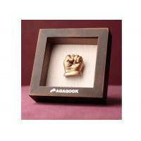 3D Baby Keepsake Box Customized DIY Baby Hand And Foot Prints Manufactures