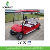 Mini 4 Wheel Drive 4 Person Club Car Electric Golf Cart With 48V Trojan Battery Manufactures