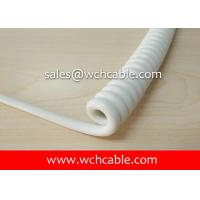 UL20866 Industry Connection Curly Cable PUR Jacket Rated 80C 300V Manufactures