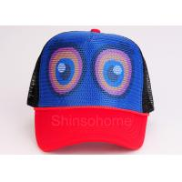 Colorful Girl Cotton Mesh Trucker Sport Hats Woven / Washing Label Manufactures