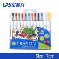 OEM / ODM Art Drawing Twist Up Crayons Water Soluble Pastels 3 Years Shelf Life Manufactures