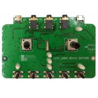 2 Layers SMT PCB Assembly PCBA Prototype Service Green Soldmask For Audio Products Manufactures
