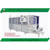 High Speed Automatic Blister Card Packing Machine Disposable Razor With Robotic Arms for sale
