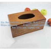 China Wooden tissue boxes, wooden paper drawn box, living tissue boxes on sale