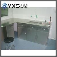 China Stainless steel Chemistry wall bench on sale