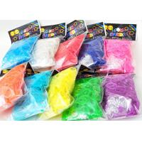Family Silicone DIY Colourfull Rainbow Loom Bands Rainbow Colorful Loom Rubber Bands Manufactures
