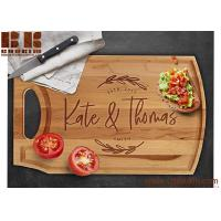 China Custom Engraved Natural Wood Cutting Board Christmas Gift Wedding Gift Anniversary Gift on sale