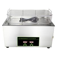 Quality 30L Fuel Injector Digital Ultrasonic Cleaner With Heater 20C - 80C Adjust for sale