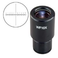 Buy cheap WF10X Wide Field Reticle Industrial Vision Camera Science Microscope Parts from wholesalers