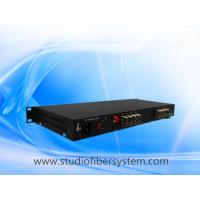 Buy cheap 16CH HDCVI to fiber converter in 1U rack mount chassis for 5MP/4mp/3mp/2mp/1mp from wholesalers