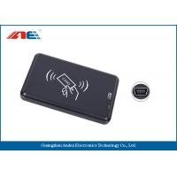 Small Type Contactless RFID Reader Writer, High Frequency USB Reader Writer Manufactures