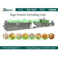 Continuous & Automatic Soya Extruder Machine