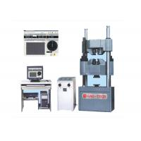 China 2000kn PC Tensile Compression Tester , Bending Strength Testing MachineManual Control on sale
