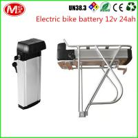 China LiFePO4 Electric Bike Battery 48v 1000w With Silver Fish Box 2000 Times Cycle Life on sale