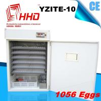Best Price YZITE-10 Full Automatic industrial 1000 egg incubator for sale Manufactures