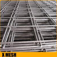 Rebar 4mm Welded Wire Mesh Concrete Reinforcement Nature Surface Finish Manufactures