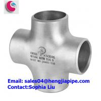 Buy cheap STAINLESS STEEL WP304 PIPE CROSS/ PIPE FITTINGS MANUFACTURER from wholesalers