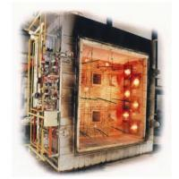 ISO Flammability Testing Equipment / Large Scale Vertical Fire Resistance Test Furnace Manufactures