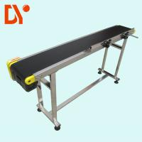 DY153 Heat Resistant Troughed Belt Conveyor , Customized Simple Conveyor System Manufactures