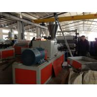 Conical PVC Foam Board Extrusion Line Cabinet Bathroom Waterproof Board Manufactures