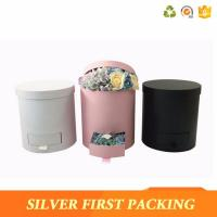 High quality Wholesale Custom Round Flower Box Rose Box with drawer Manufactures