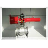 High performance Spring Return Scotch yoke pneumatic actuator for ball valves Manufactures