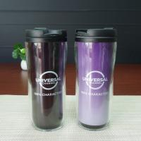China Promotional Insulated Color Change Mug Double Wall Acrylic Tumbler With Lid on sale
