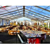 Luxury Movable Wedding Party Tent Span Width Between 3m And 60m Anti - Mildew Manufactures