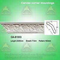 Natural home decoration pu cornice board ideas Manufactures