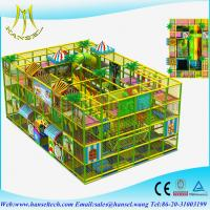Hansel EU Standard Funny Kids Indoor Playground Equipment