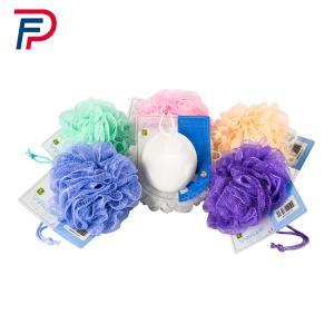 New Promotion Soft Mesh Bath Ball ,Washing Ball,Shower Puff,Mesh Flower Body Wash Sponge,PP BATH SPONGE Manufactures