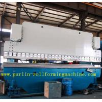 Automatic PLC Control Hydraulic Bending Machine For Roofing Sheet , ISO / CE Approved Manufactures