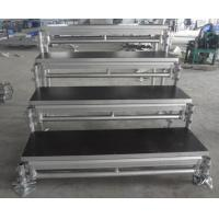 Waterproof Movable Stage Platform For Adjustable Chorus Stage / Folding Stage Manufactures