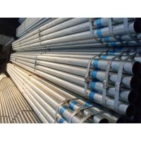 ASTM A53 / BS1387 / EN39 Galvanized Steel Pipe Round Steel Pipe for Gas and Water Manufactures