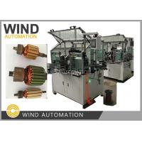 Conventional Commutator Armature Coil Winding Machine Dual Flyer For Slot Com Rotor Manufactures