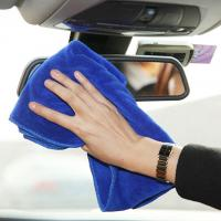 China Share 24pcs/bag Microfiber Car Cleaning Towel Terry Cloth Car Wash Clean Cloth on sale
