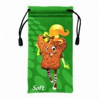 210gsm Microfiber Pouch/Holder with One Main Compartment Manufactures