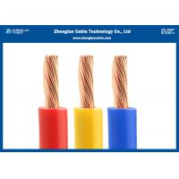 China PVC Jacket Single Conductor Stranded Wire BVR For Building House Copper Electrical on sale