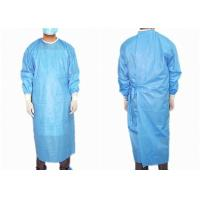 Reinforced Medical Disposable Surgical Gown Easy Wearing Waterproof Anti Statics Manufactures
