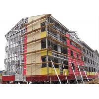 Modern Type Steel Structure Office , Multi Storey Steel Frame Office Building Manufactures