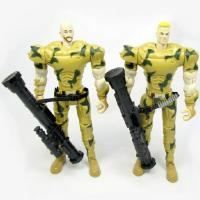 3d Printing Custom Plastic Action Figure Mold Making Russian Soldier For Collection Manufactures