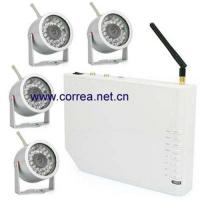 Quality 20.4GHz wireless quad receiver with wetherproof camera kits for sale