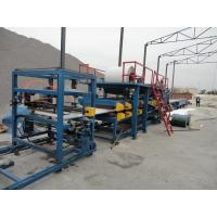 China Color Steel EPS Sandwich Panel Production Line with PLC Control System on sale